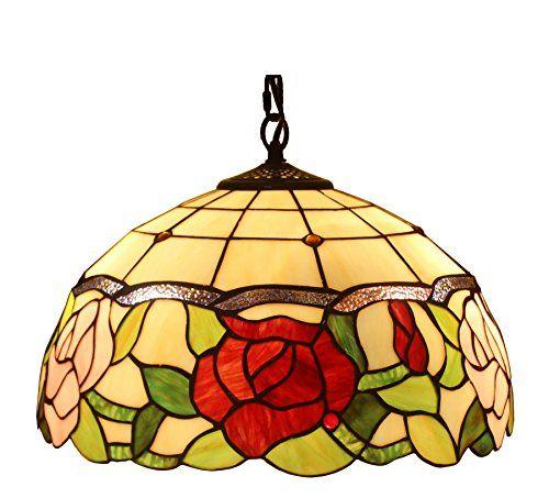 Amora Lighting Tiffany Style AM068HL16 Floral Hanging Lam... https://www.amazon.com/dp/B00ZMW0HDQ/ref=cm_sw_r_pi_dp_akbFxbMC7Z5SB