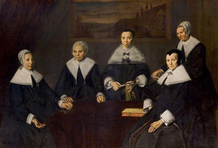 Frans Hals - De regentessen van het oudemannenhuis