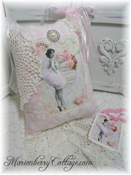 Keepsake English cottage Vintage Ballerina by MarionberryCottage,