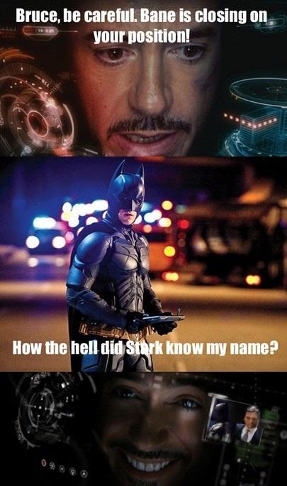 Tony Stark & Bruce Wayne More
