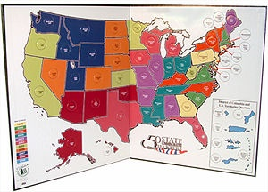 Best State Quarter Maps Images On Pinterest Coins States - Us quarter collector map
