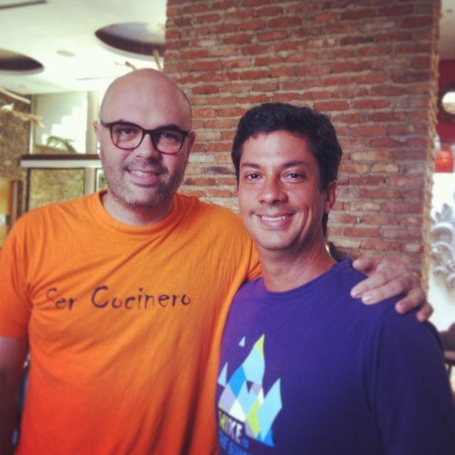 """con Carlos Garcia el Cheff N"""" 1 de Venezuela que lujo"""