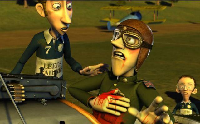 "WW1 ""History"" -- Student Academy Award winning animation"