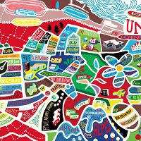 Brussel Airlines maps new! - • Antoine Corbineau • Illustration, Art & Design •
