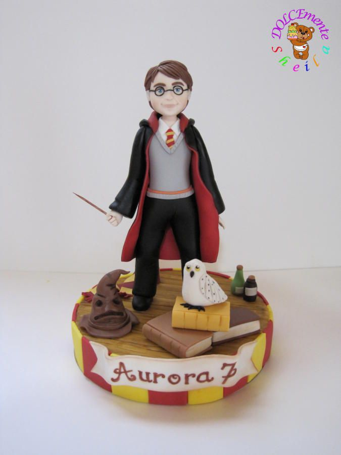 Harry Potter Cake By Sheila Laura Gallo