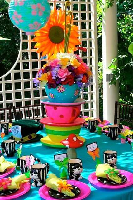 126 best ideas about alice in wonderland party on for Michaels crafts birthday parties