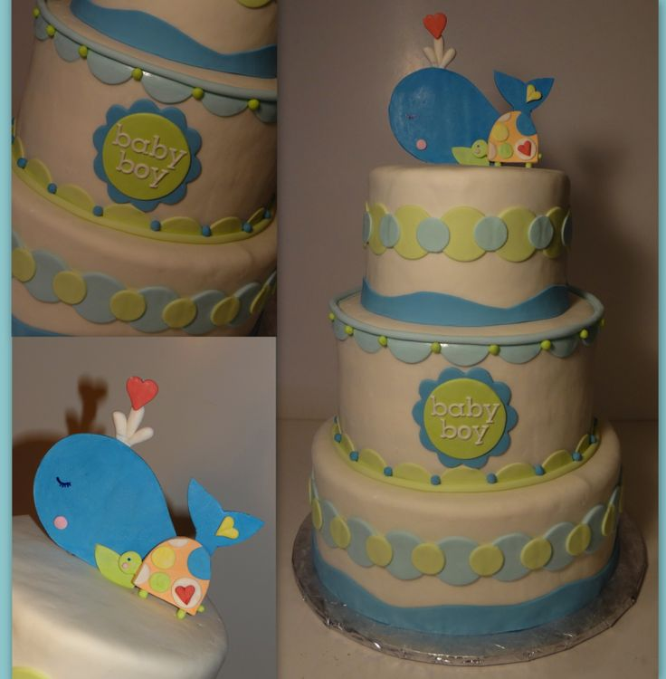 about baby shower cake on pinterest baby showers whale baby showers