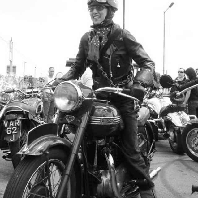 Triumph loves leather