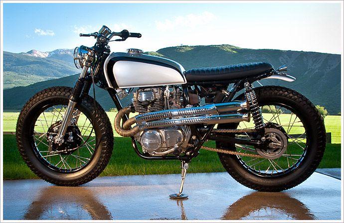 '75 HondaCL360 - Pipeburn -