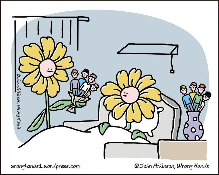 En el mundo paralelo de las flores. #humor #risa #graciosas #chistosas #divertidas