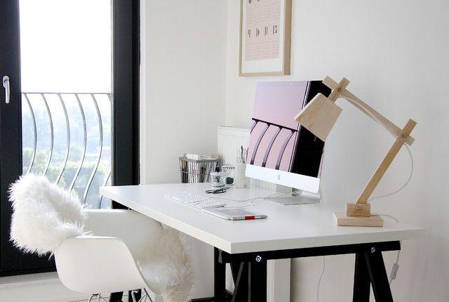 futon frame ikea Home Office Scandinavian with computer desk