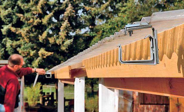 Terrassenüberdachung selber bauen – Sabrina Frobieter