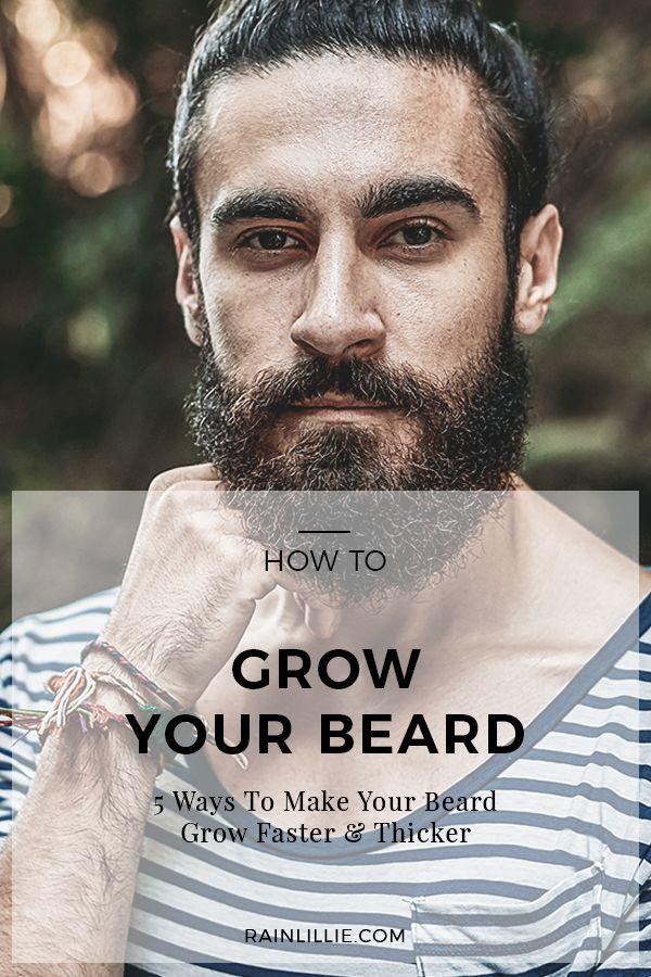 how to make your beard fuller