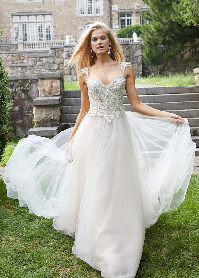 263 best Wedding Dresses images on Pinterest | Homecoming dresses ...