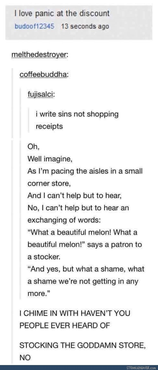 Best use of a typo - Funny tumblr post