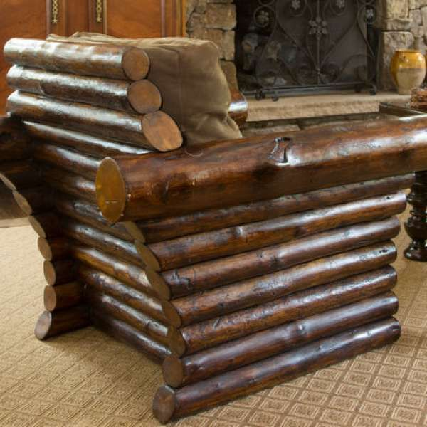 Colorado Casual Chair · Log FurnitureDream FurnitureRustic ...