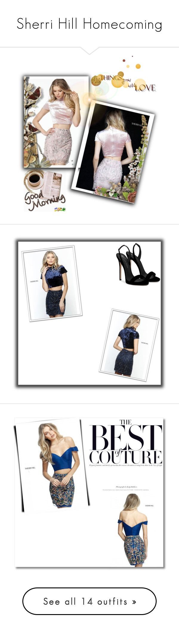 """""""Sherri Hill Homecoming"""" by homecomingqueendress ❤ liked on Polyvore featuring Prom, dress, cocktail, evening, Homecoming, Ultimate, INC International Concepts, Momeni, Ivanka Trump and Woman Within"""