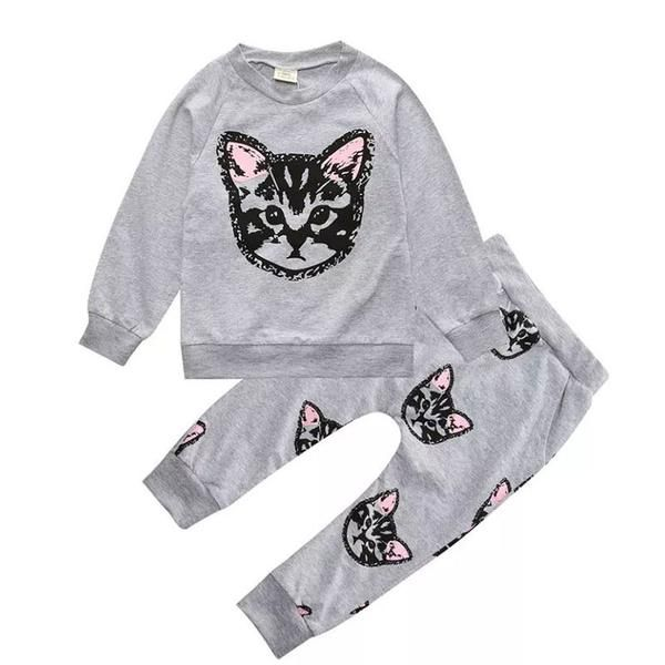 Lazy Day Full Kitty Baby Fit!