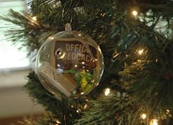 Make a Geocaching Christmas Ornament -- must do this for caching family members.