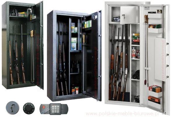 szafy na broń, sejfy na broń, sejf na broń