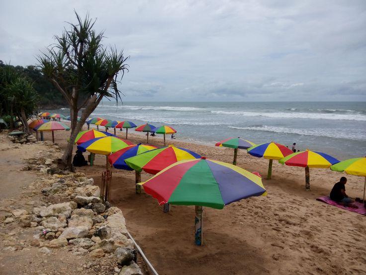 Keindahan Pantai Pok Tunggal Gunung Kidul Yogyakarta