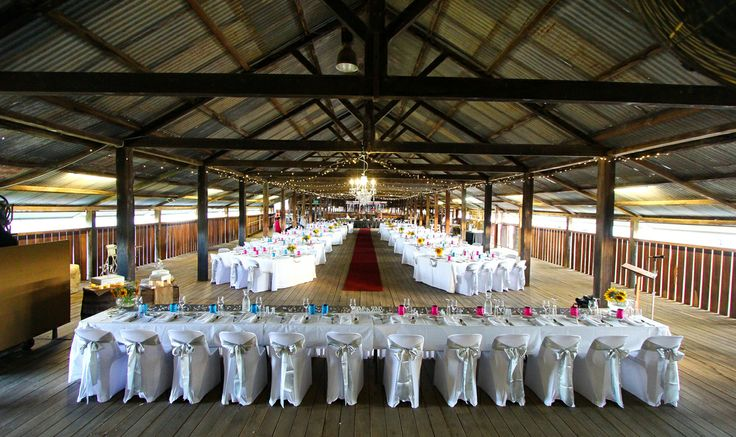 Jondaryan Woolshed reception