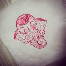 Resultado de imagen de tatuajes de elefantes