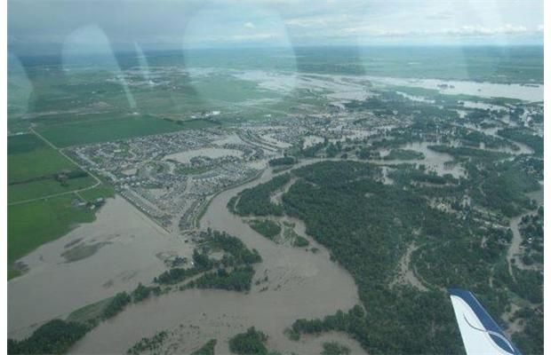 Aerial photographs of the flooding in High River June 21, 2013 Photograph by: Courtesy Yaskawa America, Inc