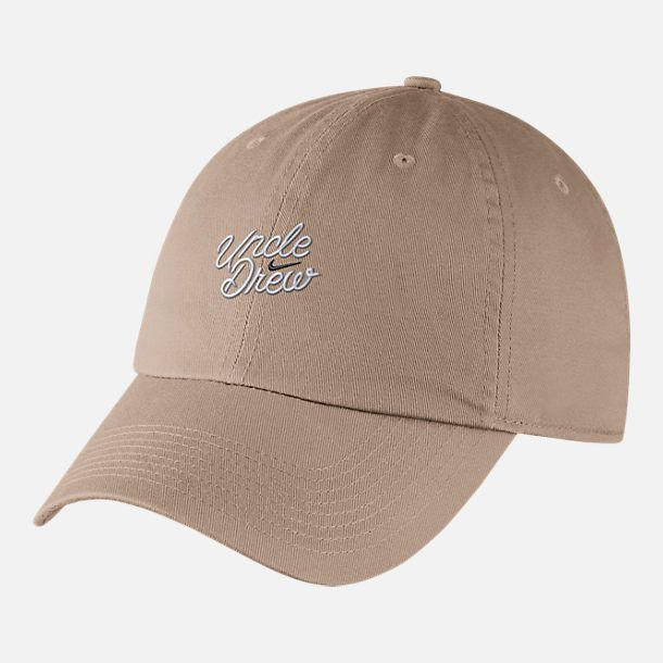035a42111fad2 Front view of Nike Kyrie Heritage86 Uncle Drew Adjustable Back Hat in Khaki