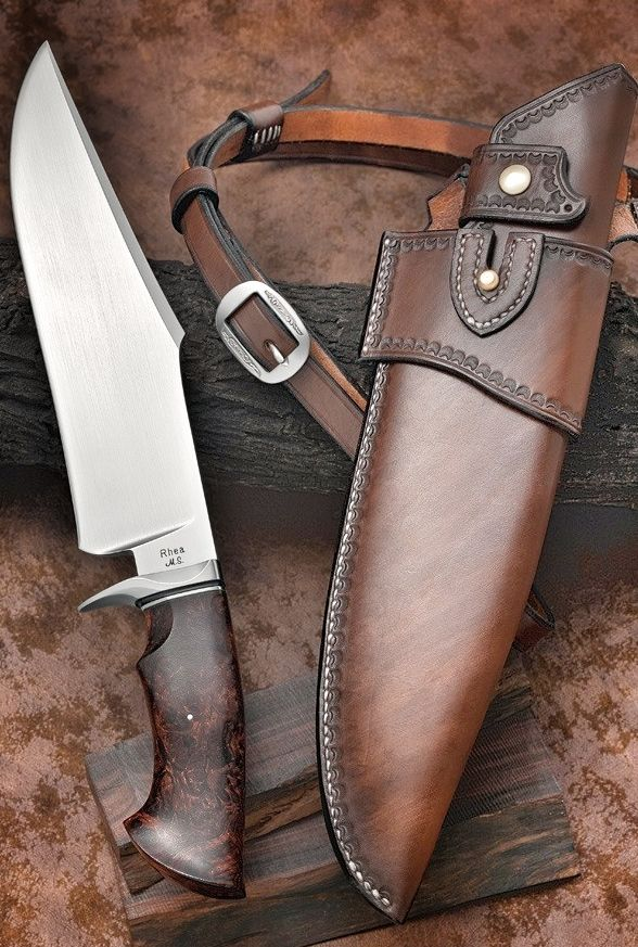 Very Nice Knife!! Just Look How Much Quality And Detail Went Into The Sheath!! Awesome Leather Work!!