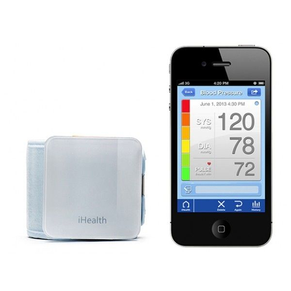iHealth Wireless Blood Pressure Wrist Monitor: ασύρματος μετρητής πίεσης και παλμών.