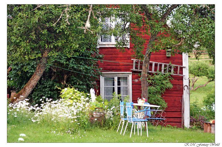 House in Bullerbü by K.M. Fantasy World