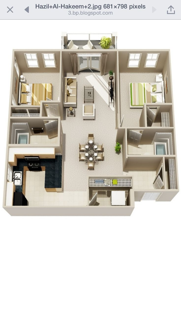 196 best lotus images on pinterest architecture home and live 50 two bedroom apartment house plans