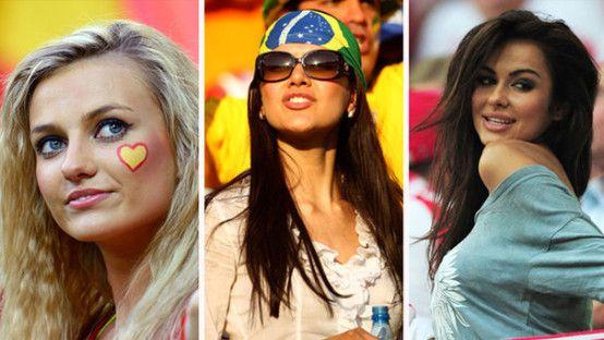 Fotos de Las Mujeres Más Bellas del Mundial Brasil 2014