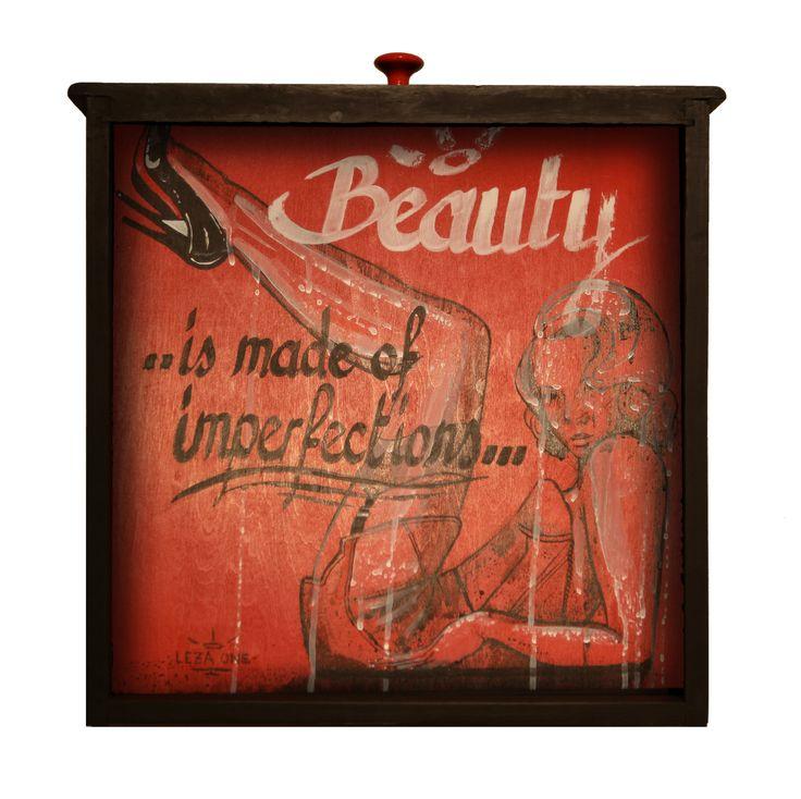 Beauty - Leza One - Urban Muses - @ Evartspace Gallery