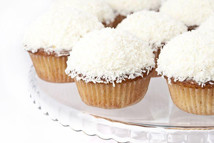 Skinny Pina Colada Cupcakes   Skinny Mom   Where Moms Get the Skinny on Healthy Living
