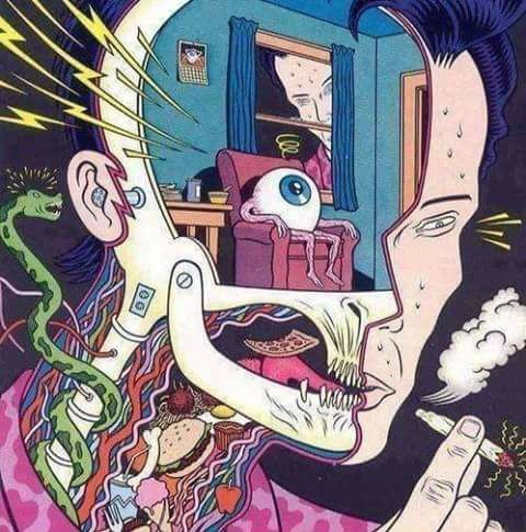 drugs, weed, and eye image