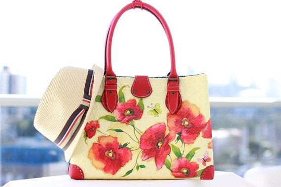 decoupage ideas-bags