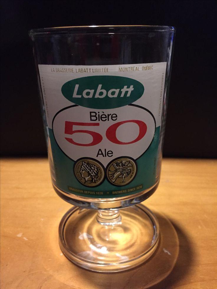 Labatt 50 glass