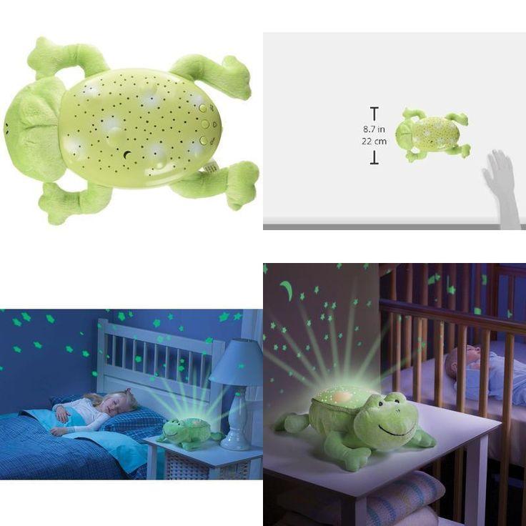 Baby Slumber Buddy Night Light Projector Nursery Kids Boys & Girls New Gift Frog #Summer #Custom