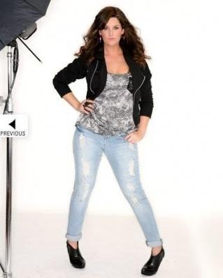 Whitney Thompson - Winner of America's Next Top Model - Plus Size