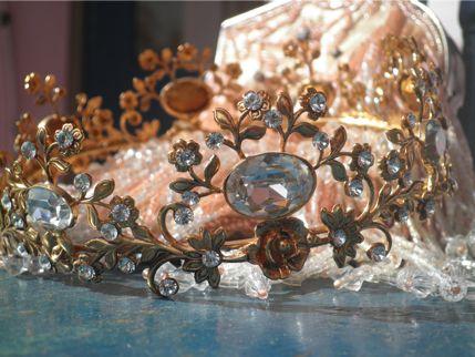 Floral Sparkle Coronet $195.00 AUD