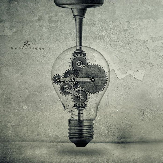 The Birth Of An Idea, image by Marko Beslac