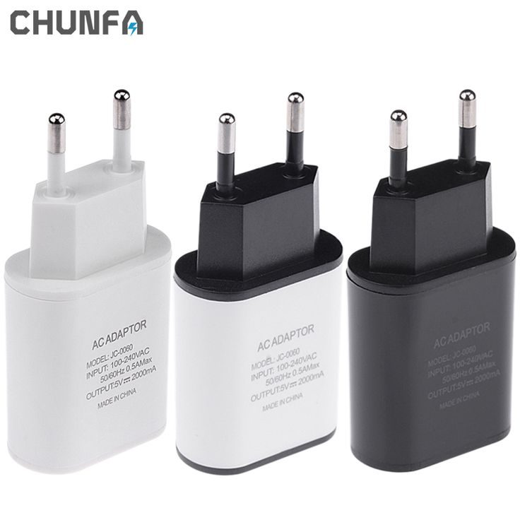 New EU Plug Charger 5V 2A Safe Fast Charging USB Europe Adapter Travel USB Speed Wall Charger for iPhone5 6 6S Plus for Samsung * Click the VISIT button for detailed description