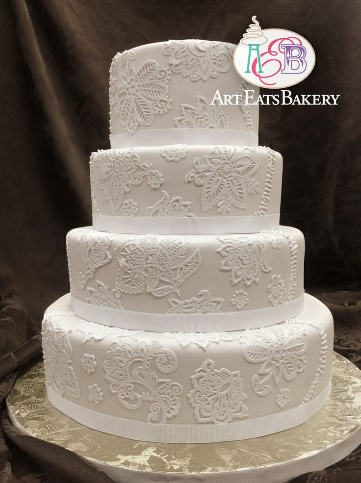 wedding cakes lace design 31 best edible lace for wedding and birthday cake designs 24865