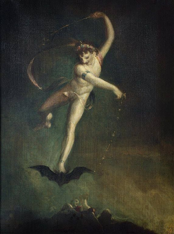 """Ariel (The Tempest)"" by Henry Fuseli, 1800-1810"