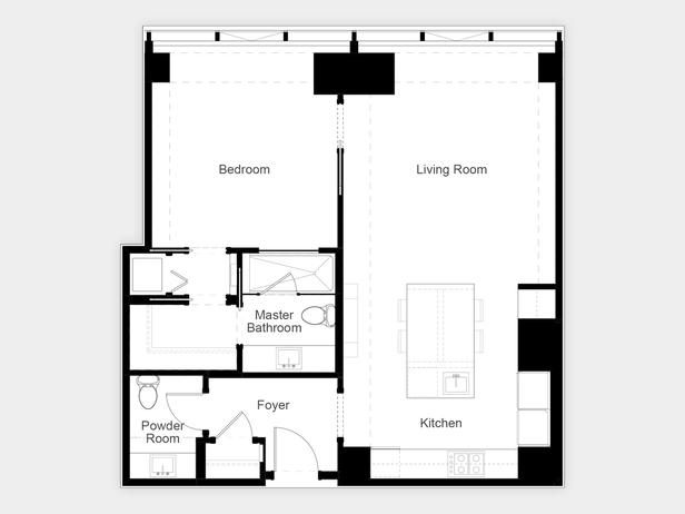 18 best Floor plans images on Pinterest | Small apartments ...