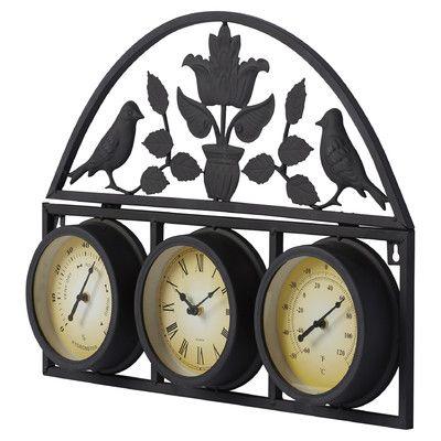 Three Posts Carolina Clock U0026 Reviews | Wayfair