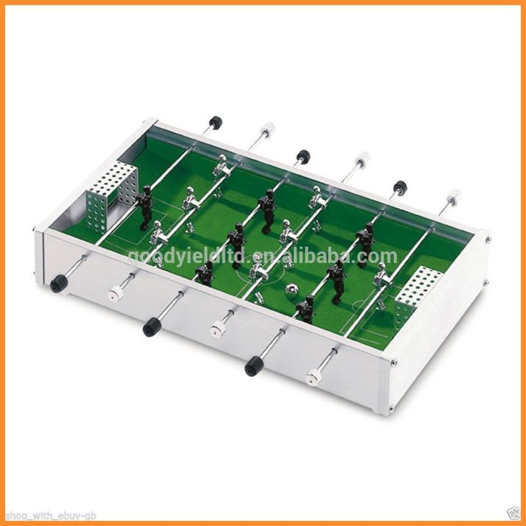 hot sold mini Alu. table top football game set(GYTF01002)