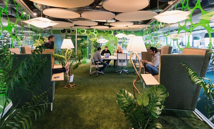 Another Quirky Google Office In Dublin By Swiss Design